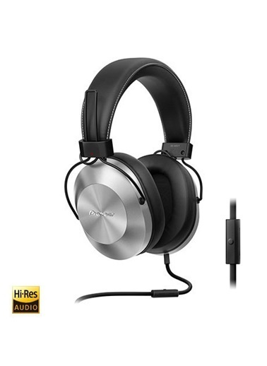 Pioneer SE-MS5T-S  Kulaküstü Mikrofonlu Kulaklık Gümüş